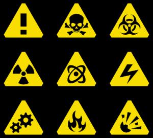 אייקונים של סכנת הרעלה