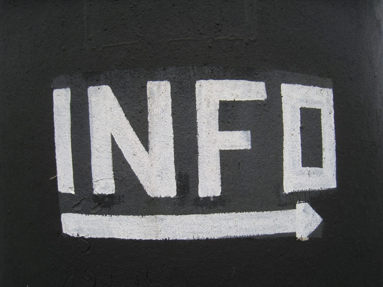 שילוט מידע - תמונה להמחשה