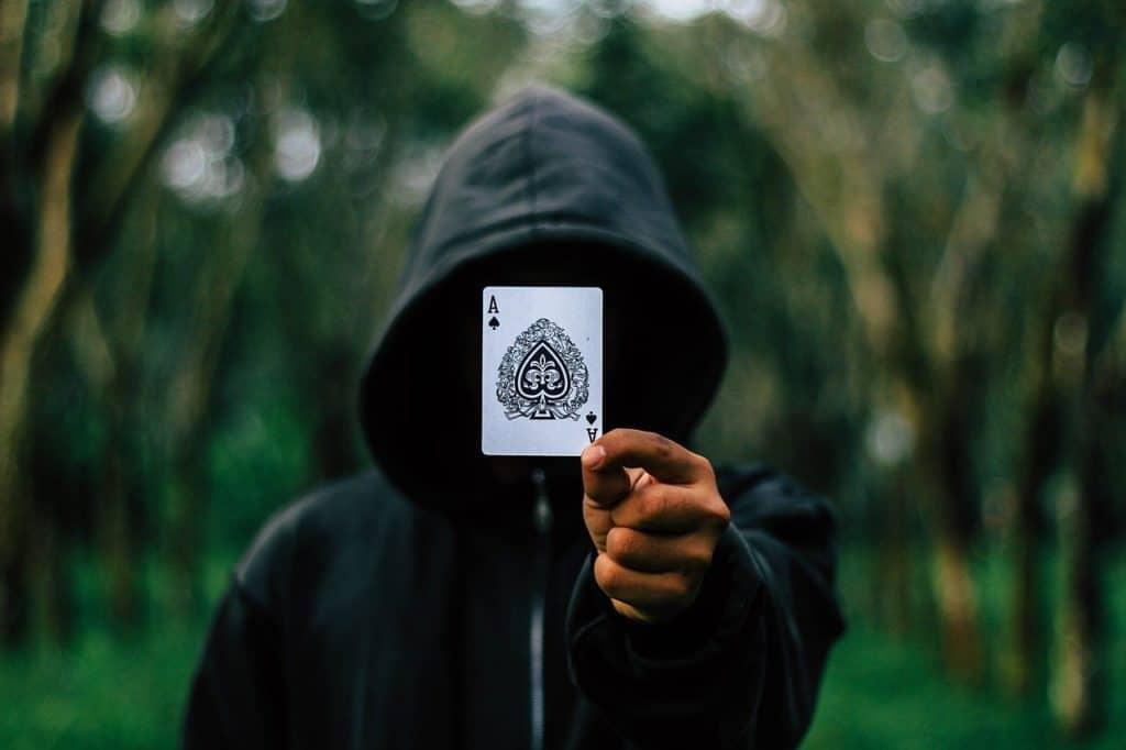 אמן חושים מראה קלף